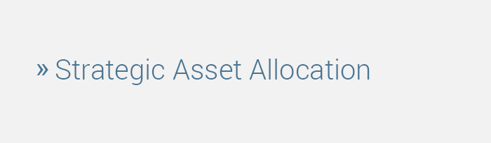 Strategic Family Office Advisors - Strategic Asset Allocation